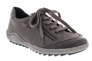 Remonte Womens R1402-44 Grey Combi Shoes